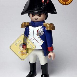 Napoleón Bonaparte uniforme azul
