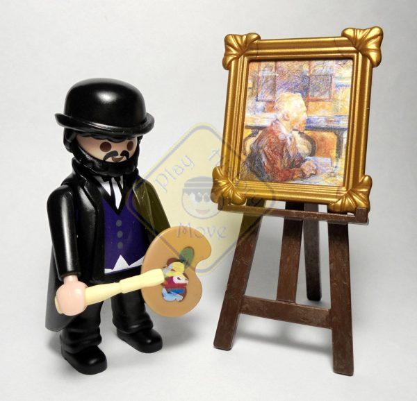Lautrec y cuadro van Gogh